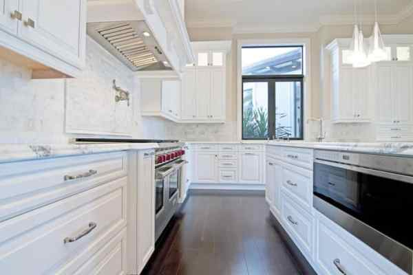 white galley kitchen designs 25 Stylish Galley Kitchen Designs - Designing Idea