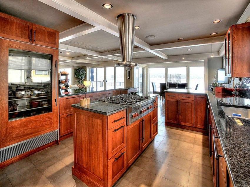 23 Cherry Wood Kitchens Cabinet Designs Amp Ideas