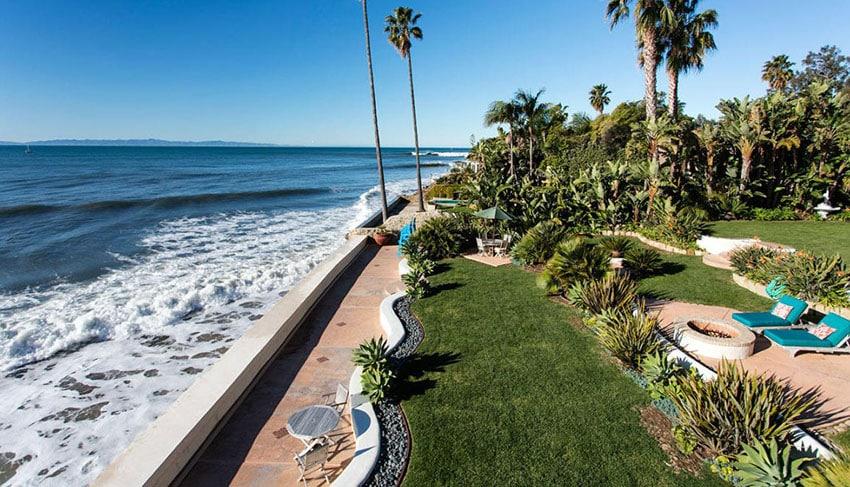 Luxury Oceanfront Cottage in Santa Barbara CA
