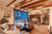 39 Beautiful Living Rooms with Hardwood Floors - Designing ...