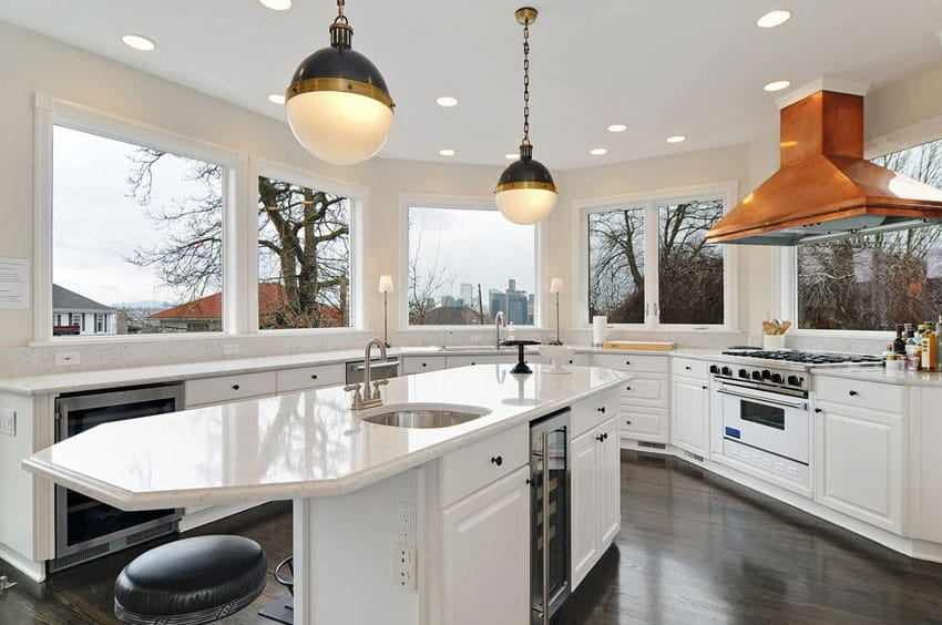 30 Beautiful White Kitchens Design Ideas  Designing Idea
