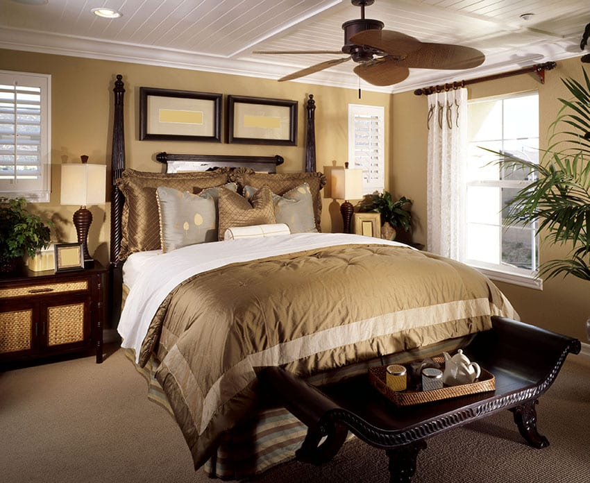 Tan Bedroom
