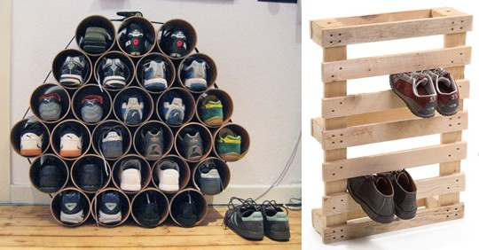 10 Creative Ideas To Store Your Shoes