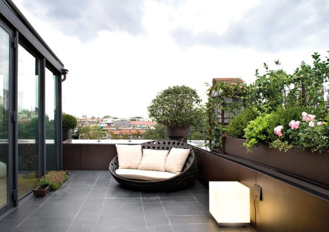 5 Beautiful Private Terraces