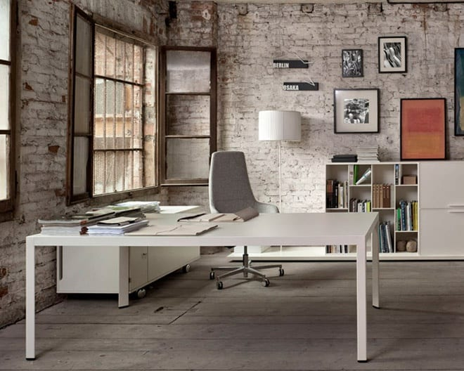 Minimal and Elegant Executive Office Environments