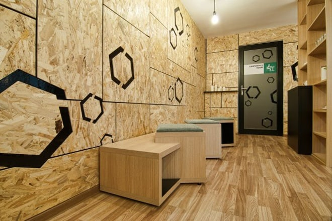 Office In Timisoara Different Deco Cuts Or How To Change