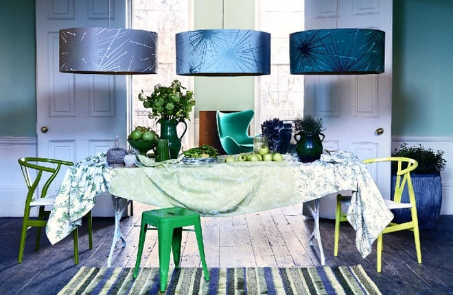 25 Blue and Green Interiors Design An interesting and Fresh Colors Combination