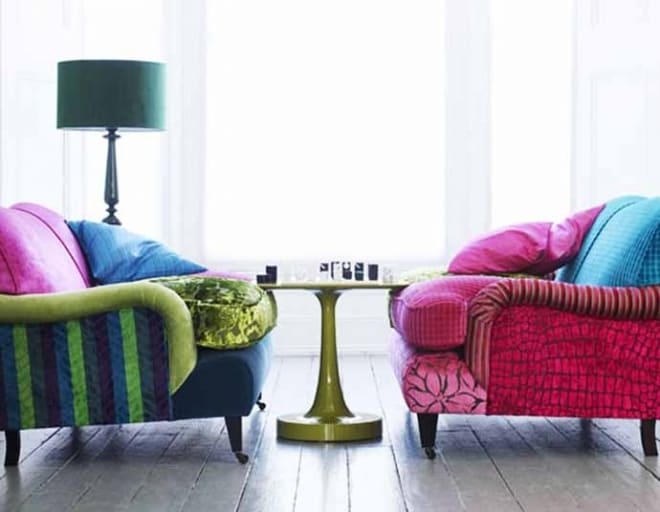 20 Inspiring Ideas Colorful Living Room Decoration with