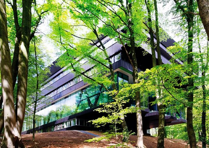 Rehabilitation Center with Nature Ingredients in a