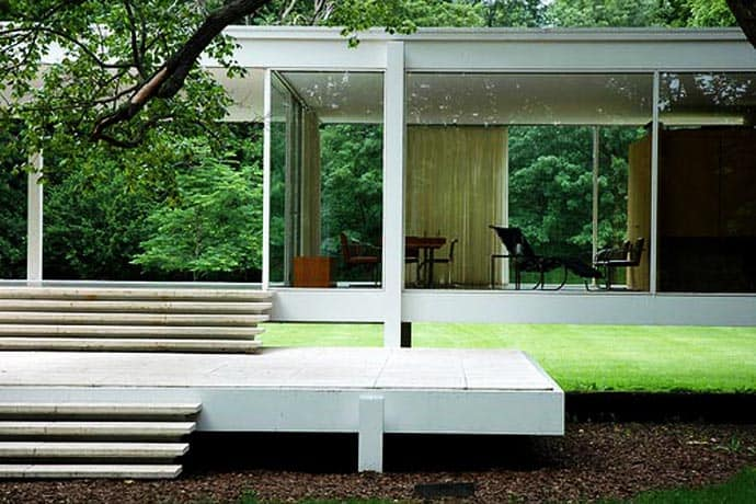 Farnsworth House An Amazing House By Mies Van Der Rohe