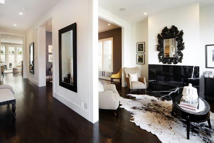 Great Combination Classic Victorian Interior vs Modern Lounge Outside