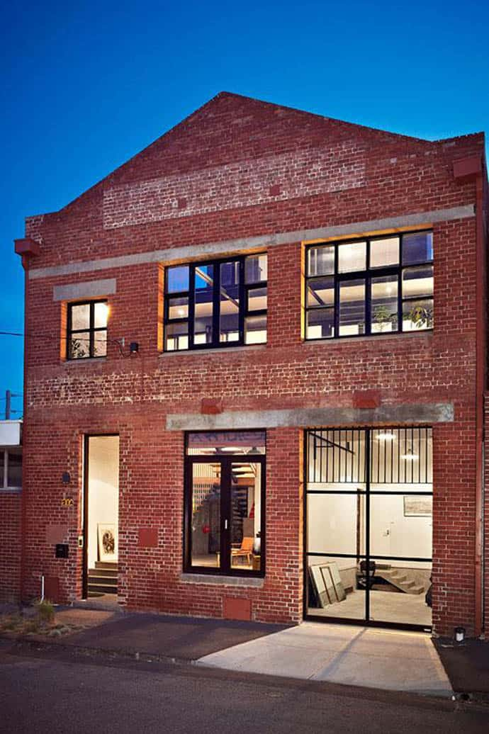 Garage Conversion To Bedroom And Bathroom For Sale: New York-style Warehouse Conversion In Melbourne