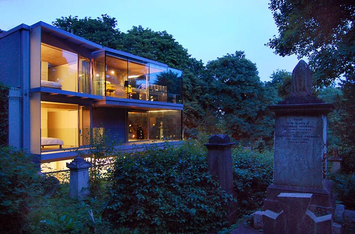 kitchen ventilation fans leaking kohler faucet a modern house next to an old cemetery by eldrige smerin ...