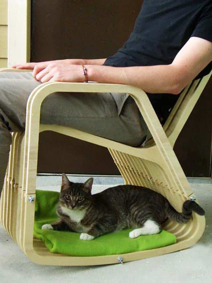 A chair for 2 Rocking Chair and DogCat House  DesignRulz