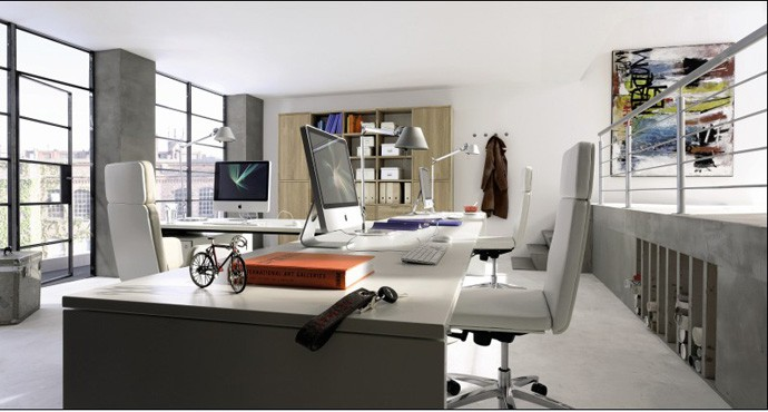 Choose Your Perfect Place to Work  15 Home Office Furniture Inspirations