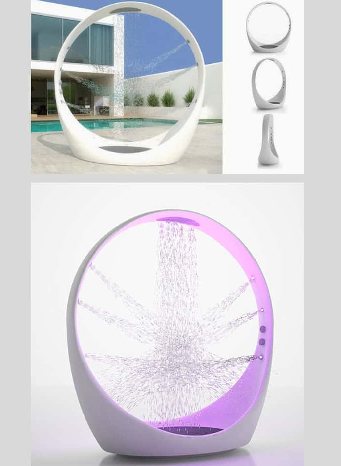 Multisensory Water Experience Outdoor Shower System LOOP