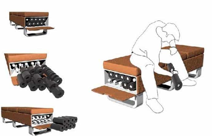 Fitness At Home Otto Bench That Transforms Into A Little Gym