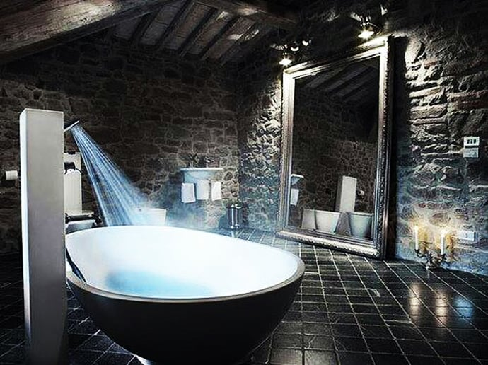 10 Lovely Bathroom With Some Rustic Decor Inspiration