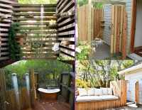 20 Irresistible Outdoor Shower Designs for Your Garden