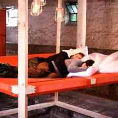 Floor Sofa Bed Sleeper Modern Style Koala 45 - An Over-sized Hammock By Stal Collectief