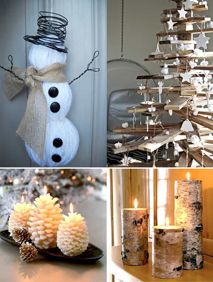 20 Natural Christmas Decorations For A Lovely Home