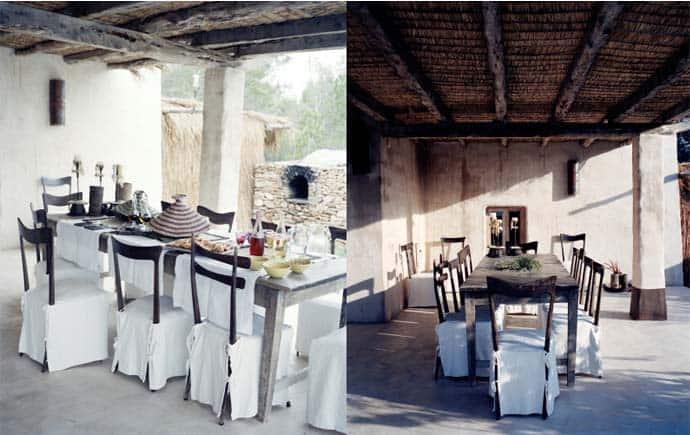Return to Wood in Casa Castiglioni from Formentera Island