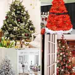 Chair Cover Christmas Decorations Swing Johor Bahru 25 Beautiful Tree Decorating Ideas