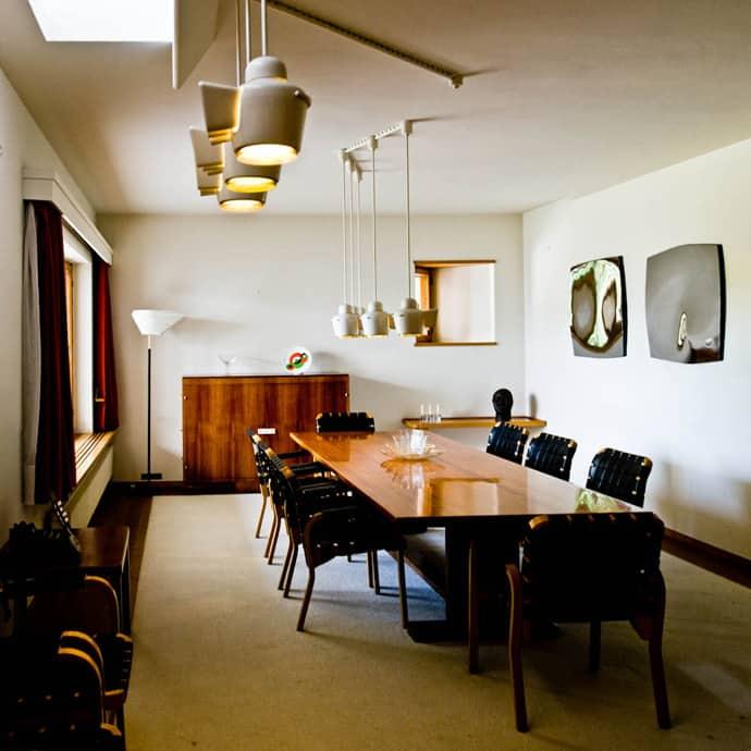 Modern Private House Designed by Alvar Aalto Maison Louis Carr