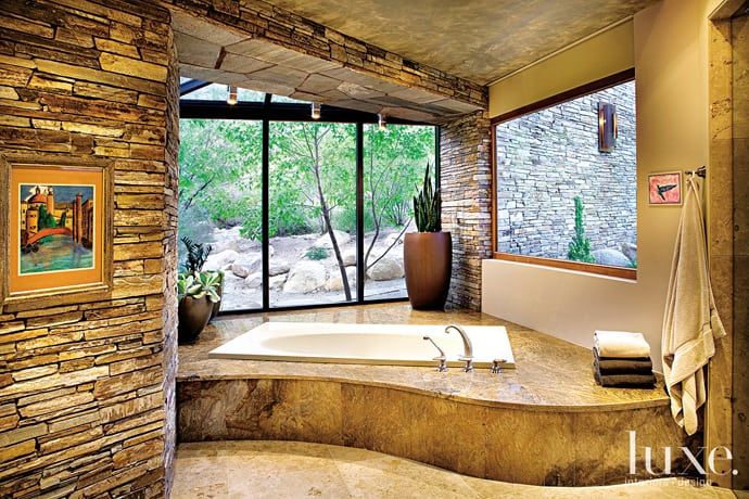 40 Amazing Bathroom Designs That Fused with Nature