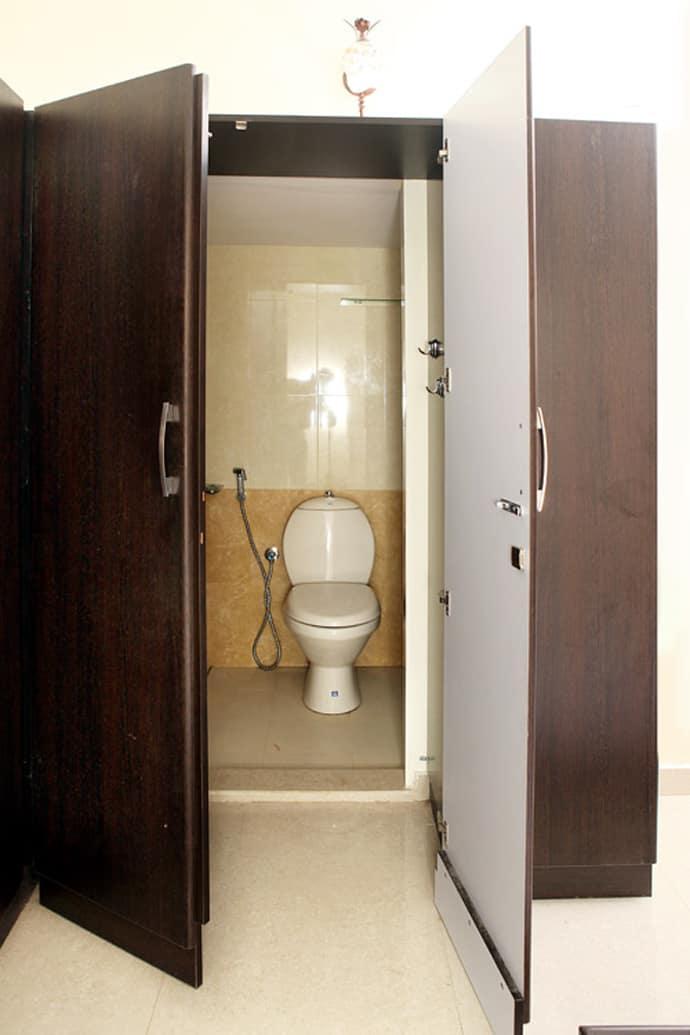 5 Dynamic Bathroom Designs Hidden Into The Walls