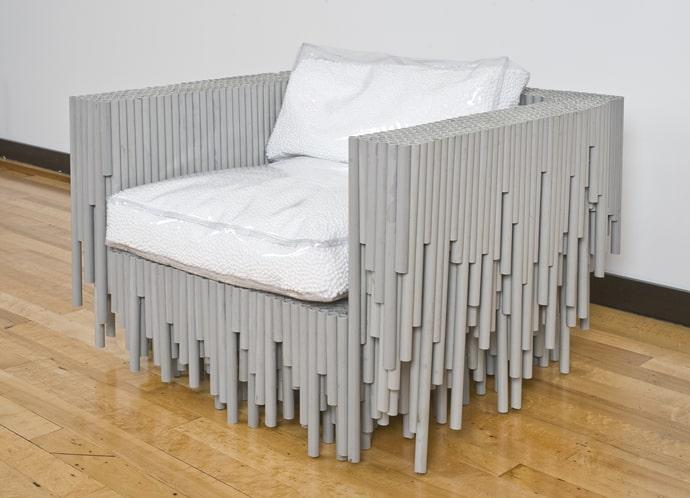 diy pvc pipe sofa wood legs uk dreams: 15 unexpected projects using