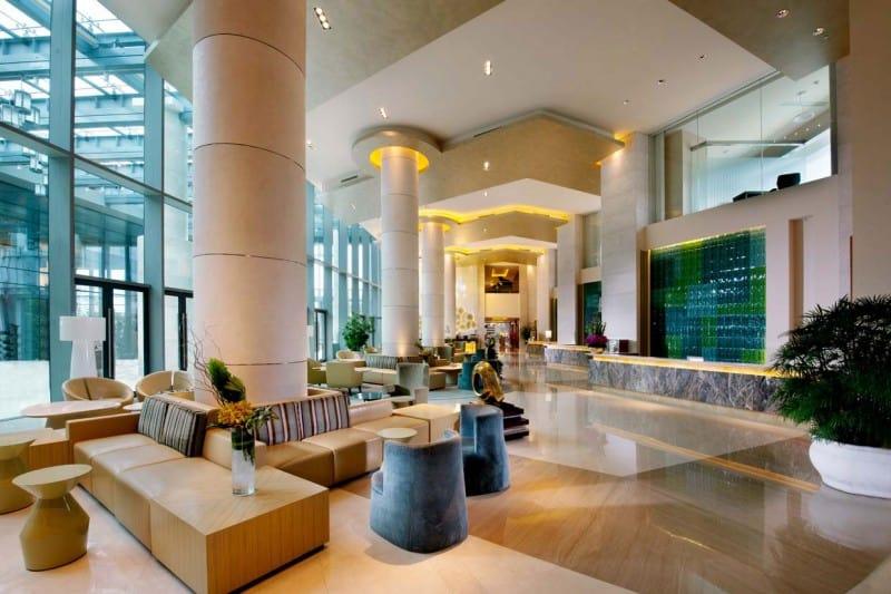 Sumptuous Hotel in Shanghai China Holiday Inn Shanghai