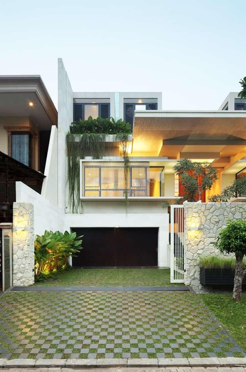 Modern Family House Static House Jakarta Indonesia DesignRulz