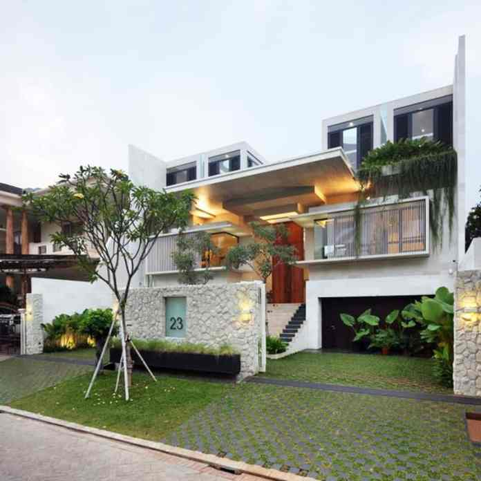 Modern Family House Static House Jakarta Indonesia