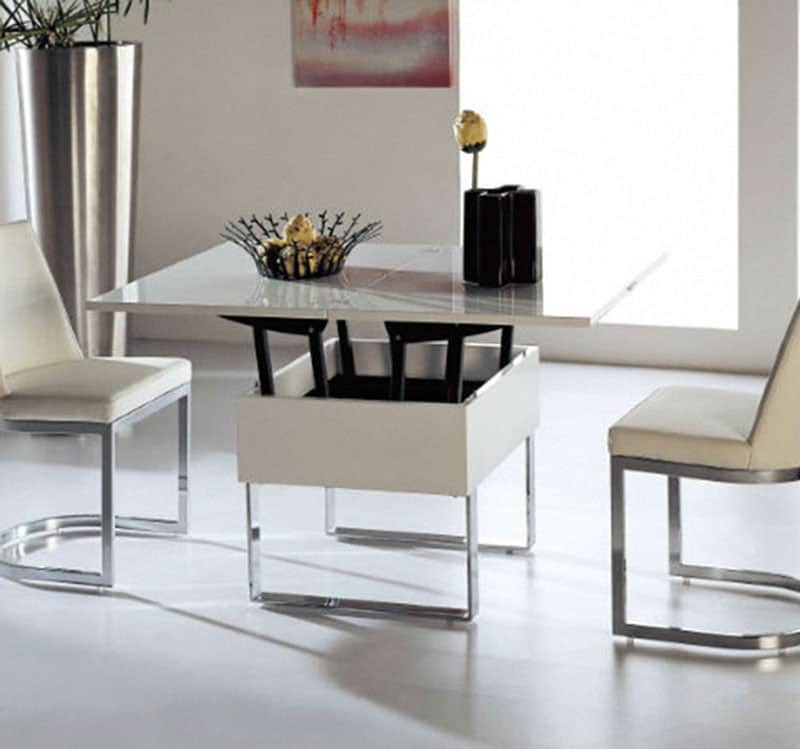 Great Example of Smart Furniture  Space Saving Without