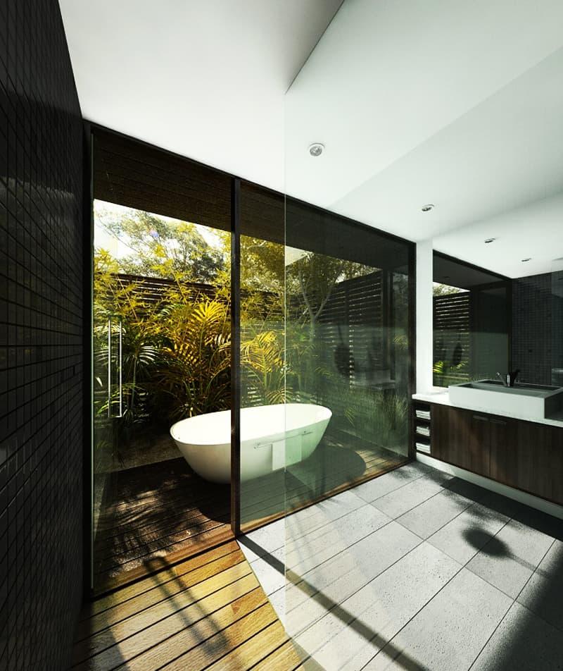 Bathroom Decor Nature