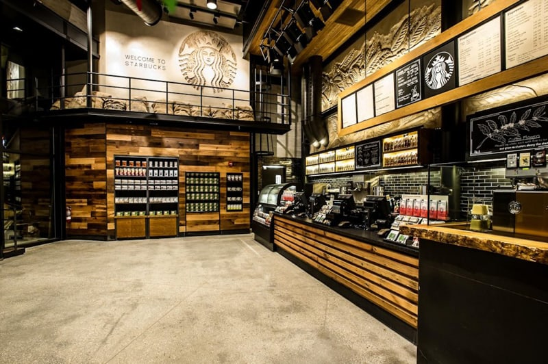 The First Starbucks Reserve Store Downtown Disney