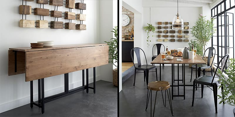 10 SpaceSaving Dining Tables for your Tiny Apartment
