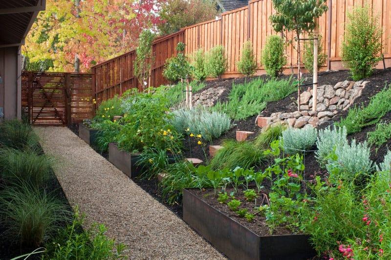 How To Turn A Steep Backyard Into A Terraced Garden DesignRulz