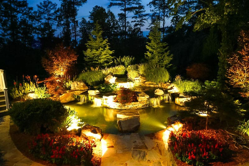 Animate your Landscape with Waterfalls Koi Ponds Aquatic