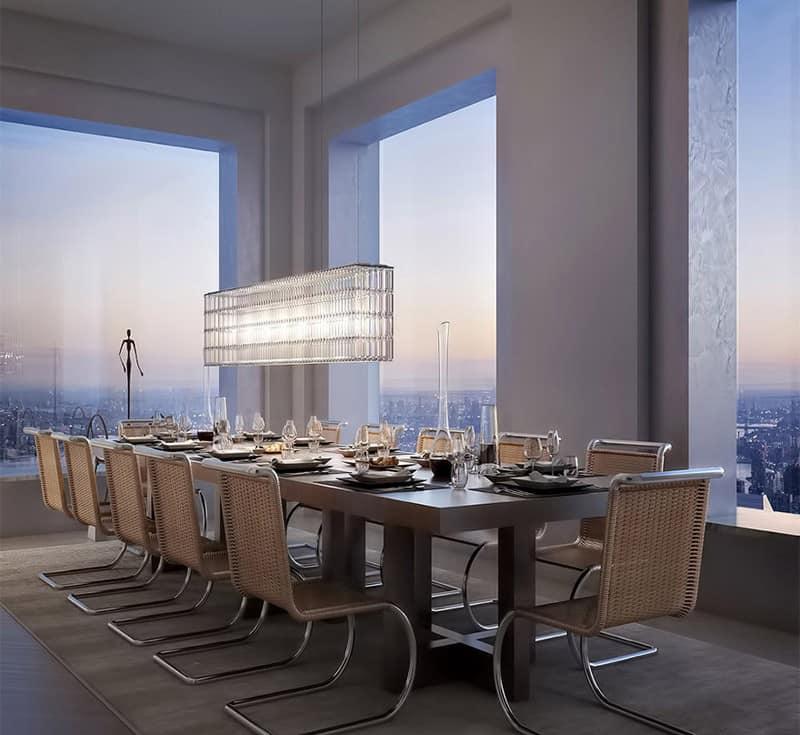 outdoor kitchen dimensions valance patterns 100% new york experience: breathtaking $95-million ...