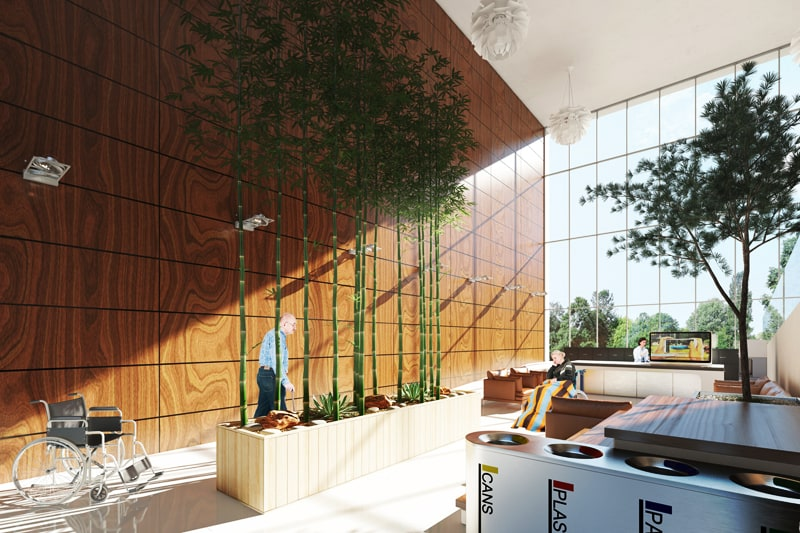 Elderly Day Care Center By New Idea