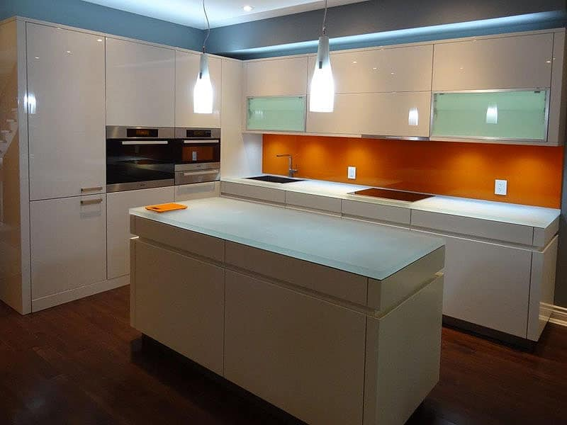 onyx kitchen backsplash knives glass countertop island with led lighting designed by cgd ...