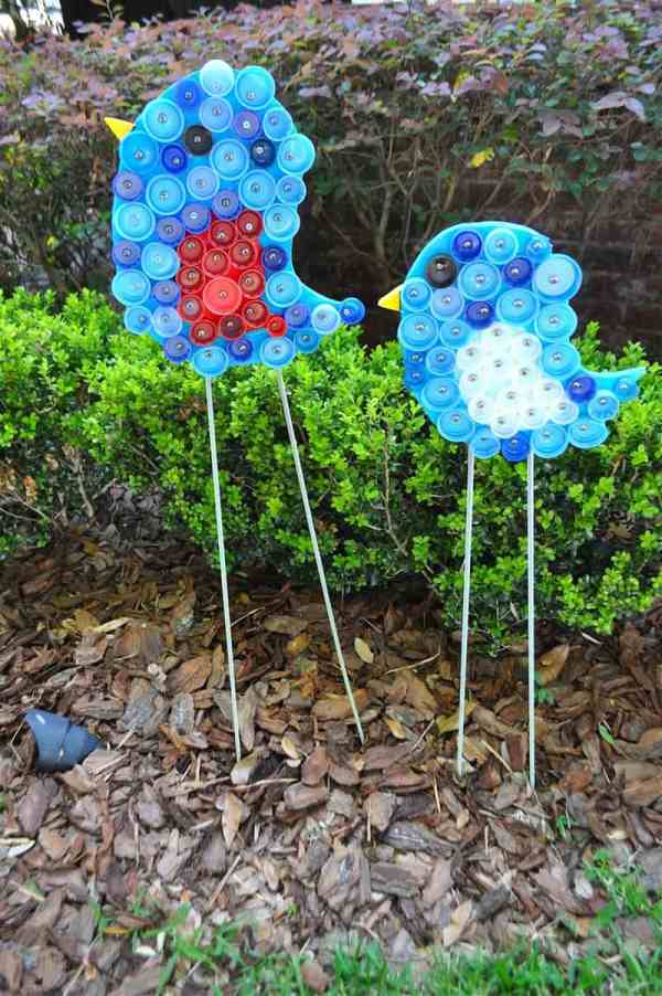 creative decorations with recycled