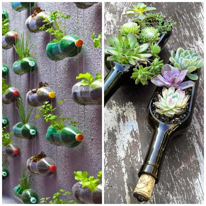 DIY 40 Ideas For Gardening With Recycled Items DesignRulz