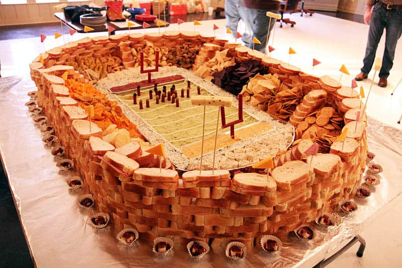 20 Incredible Snack Football Stadiums
