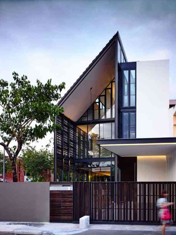 Lines Of Light Family House Hyla Architects Singapore