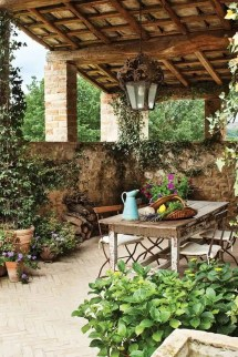 Italian Tuscan Patio Ideas