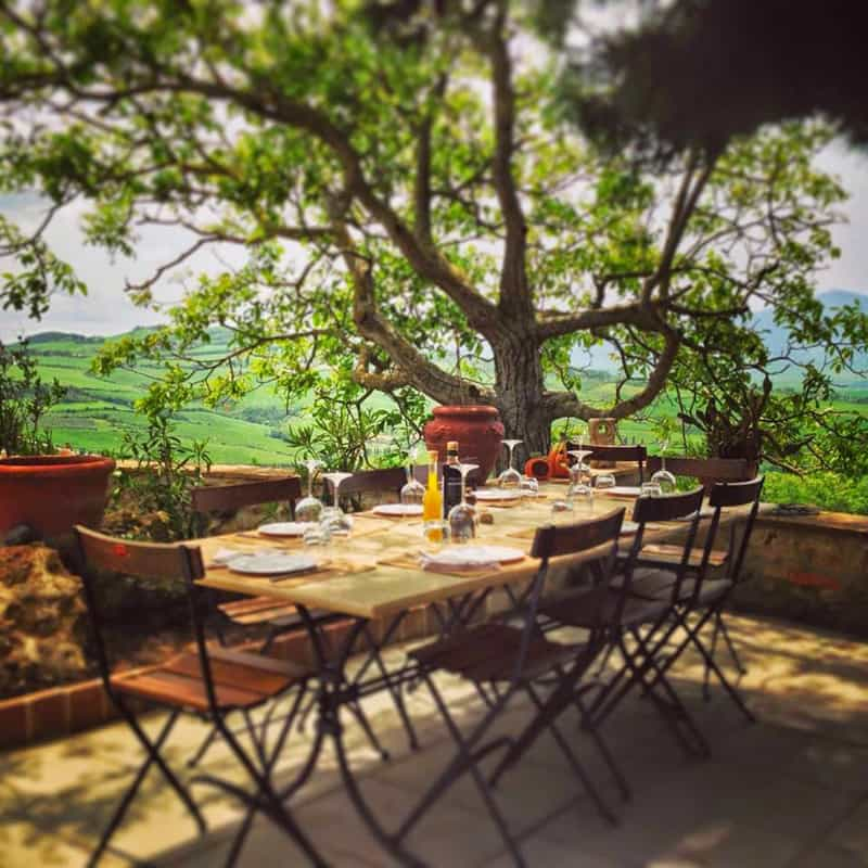 Under the Tuscan Sun 30 Outdoor Dining in Tuscany