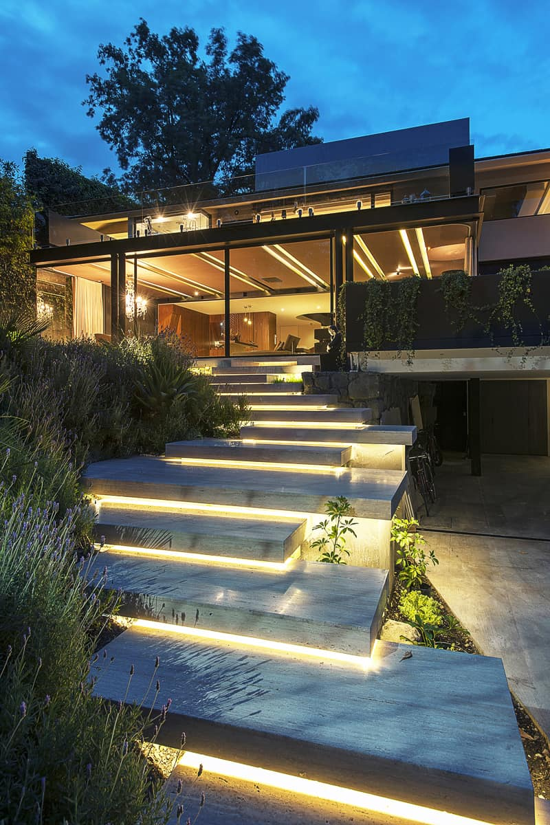 15 attractive step lighting ideas for